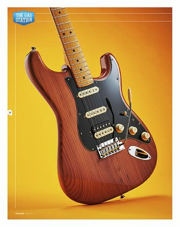 Total Guitar FENDER AMERICAN PRO II STRATOCASTER HSS