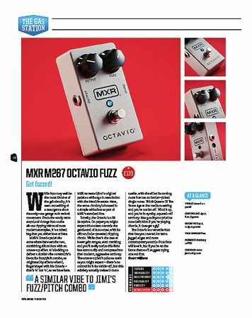 Total Guitar MXR M267 OCTAVIO FUZZ