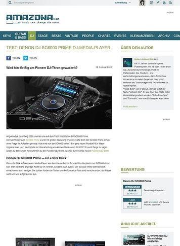 Amazona.de Denon DJ SC6000 Prime