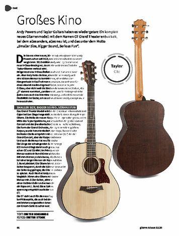 Gitarre & Bass Taylor Gte, A-Gitarre