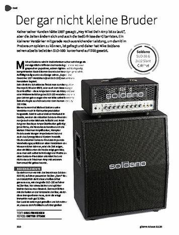 Gitarre & Bass Soldano SLO 30 & 2x12 Slant Cabinet