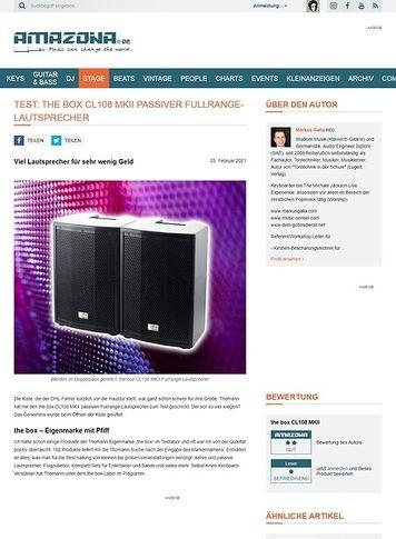 Amazona.de the box CL108 MKII