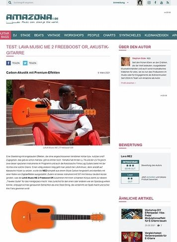 Amazona.de LAVA Music ME 2 Freeboost OR