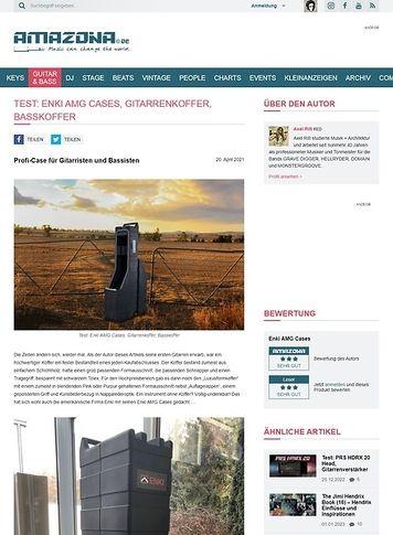 Amazona.de Enki AMG Cases, Gitarrenkoffer