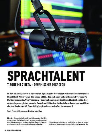 Sound & Recording T.bone MB 7 Beta