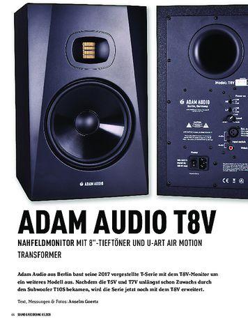 Sound & Recording Adam Audio T8V