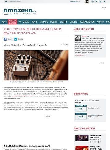 Amazona.de Universal Audio Astra Modulation Machine