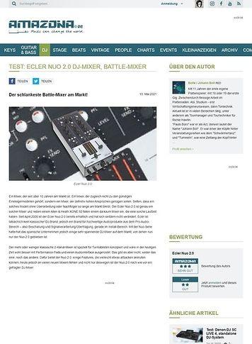 Amazona.de Ecler Nuo 2.0 DJ-Mixer