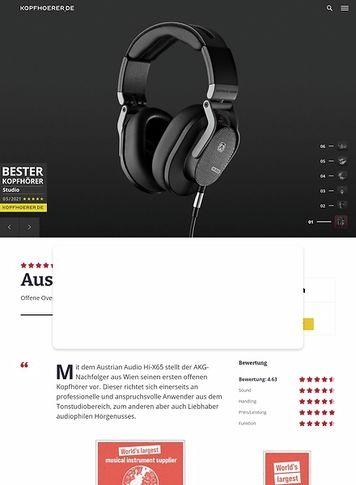 Kopfhoerer.de Austrian Audio Hi-X65