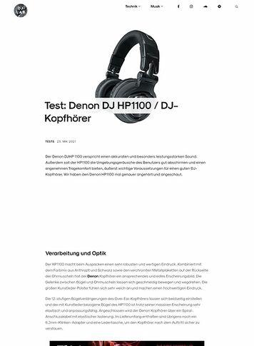 DJLAB Denon DJ HP1100