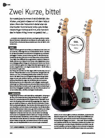 Gitarre & Bass G&L Tribute Fallout Bass