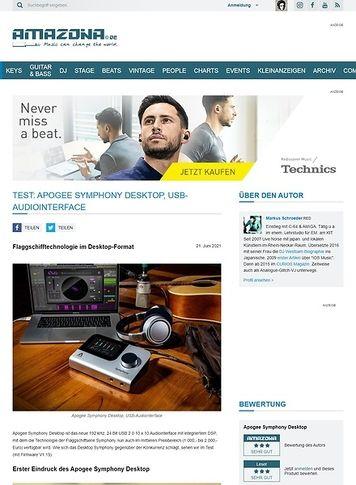Amazona.de Apogee Symphony Desktop