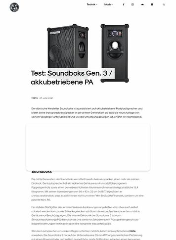 DJLAB Soundboks Gen. 3