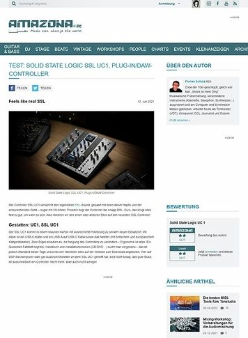 Amazona.de Solid State Logic SSL UC1