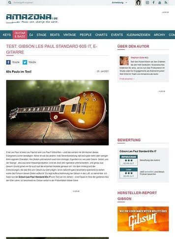 Amazona.de Gibson Les Paul Standard 60s IT