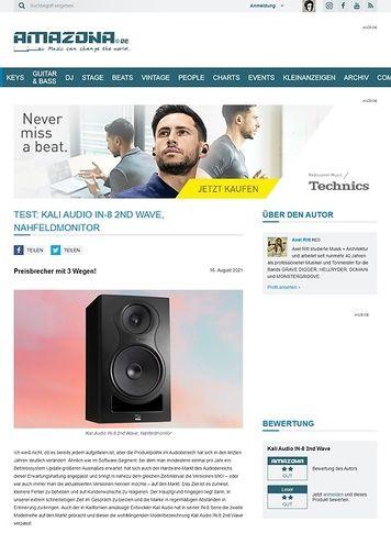 Amazona.de Kali Audio IN-8 2nd Wave