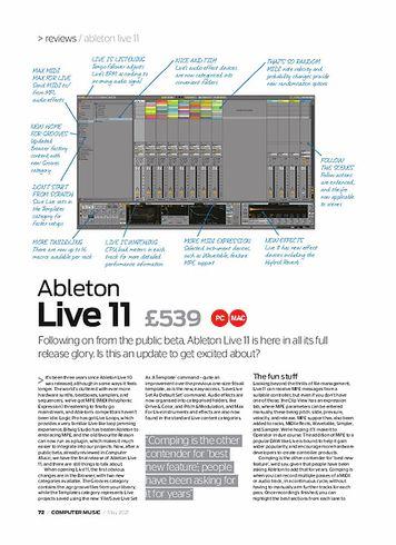 Computer Music Ableton Live 11
