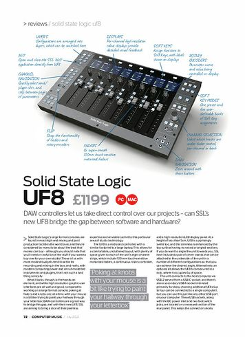 Computer Music Solid State Logic uf8