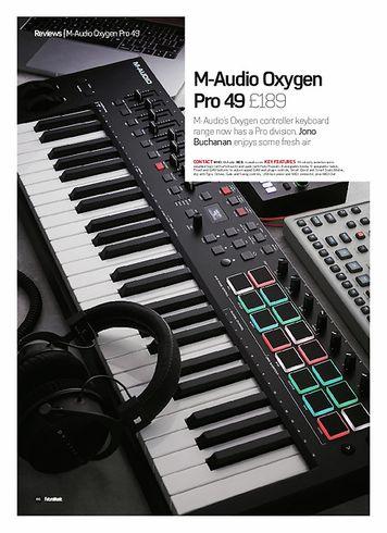 Future Music M-Audio Oxygen Pro 49