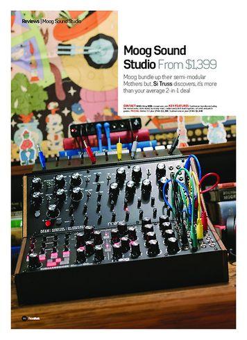 Future Music Moog Sound Studio