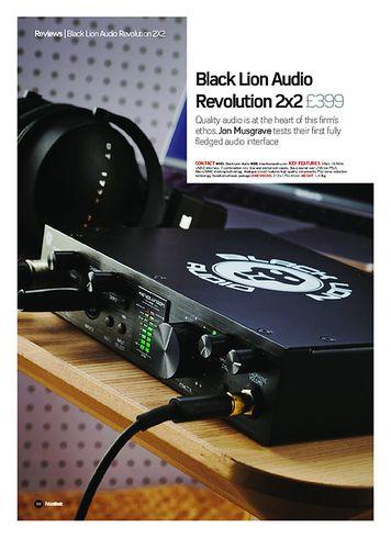 Future Music Black Lion Audio Revolution 2x2