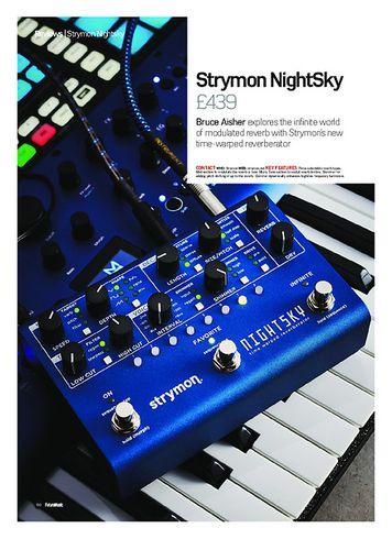 Future Music Strymon NightSky