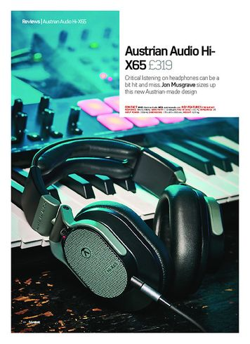 Future Music Austrian Audio Hi-X65