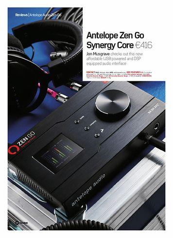 Future Music Antelope Zen Go Synergy Core