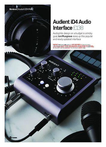 Future Music Audient iD4 Audio Interface