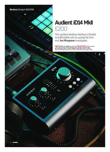 Future Music Audient iD14 MkII