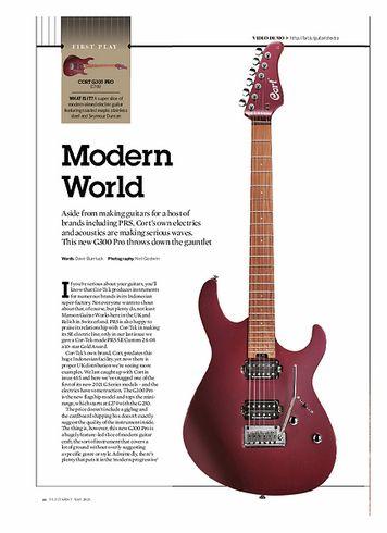 Guitarist Cort G300 Pro