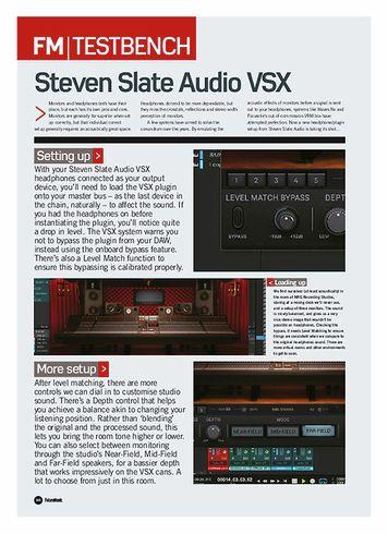 Future Music Steven Slate Audio VSX