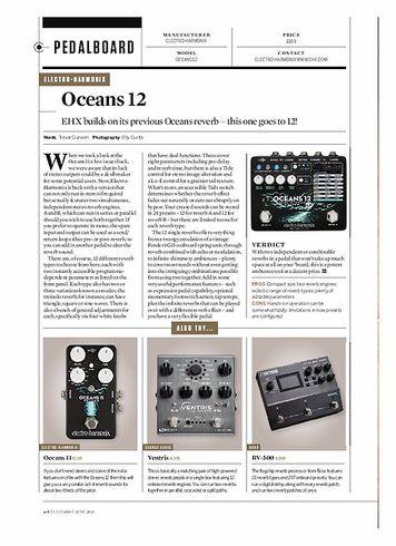 Guitarist Oceans 12