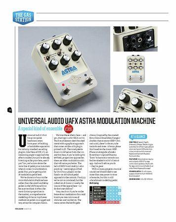 Total Guitar Universal Audio UAFX Astra Modulation Machine
