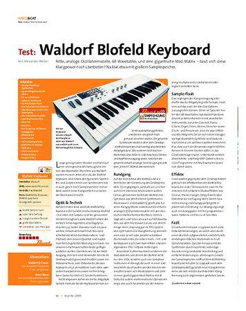 Beat Test: Waldorf Blofeld Keyboard