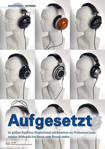 Professional Audio Kopfhörer Vergleichstest