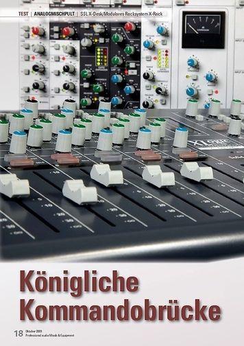 Professional Audio SSL X-Desk/Modulares Racksystem X-Rack