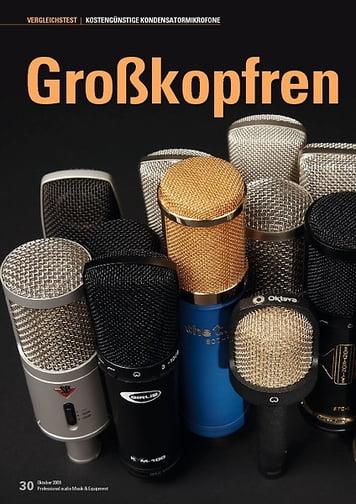 Professional Audio Großkopfrennen: 15 Großmembran-Mikrofone