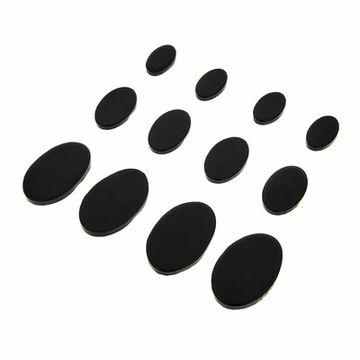 SkyGel Gel Damper Pads black 12 Pack
