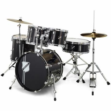 Millenium Focus 18 Drum Set Black