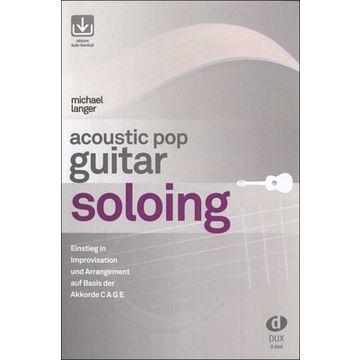 Edition Dux Acoustic Pop Guitar Soloing