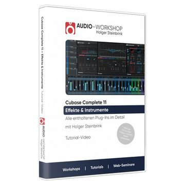 Audio Workshop Cubase Complete 11 Effekte