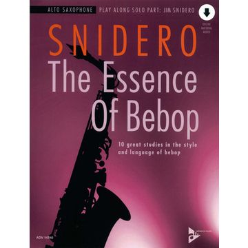 Advance Music Essence of Bebop A-Sax