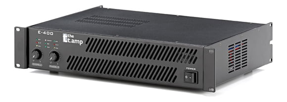 the t.amp E-400 Endstufe