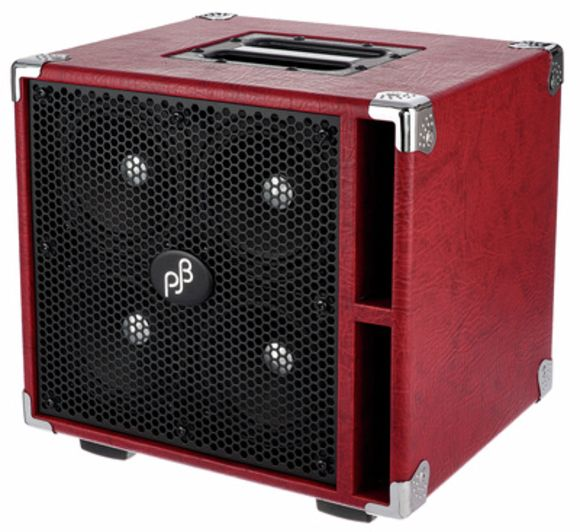 Piranha C4 Bass Cabinet Red Phil Jones