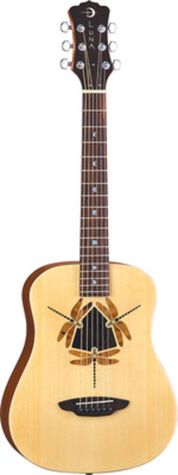 Safari Dragonfly Luna Guitars