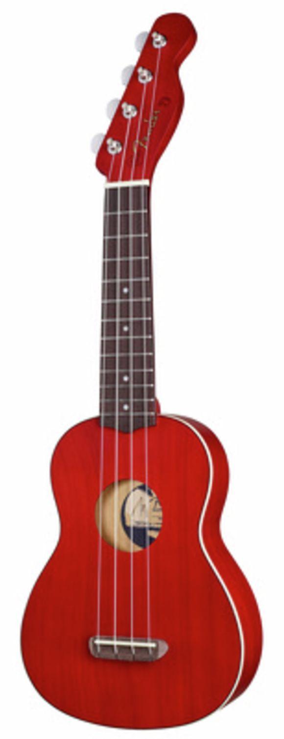 Venice Soprano Ukulele Cherry Fender