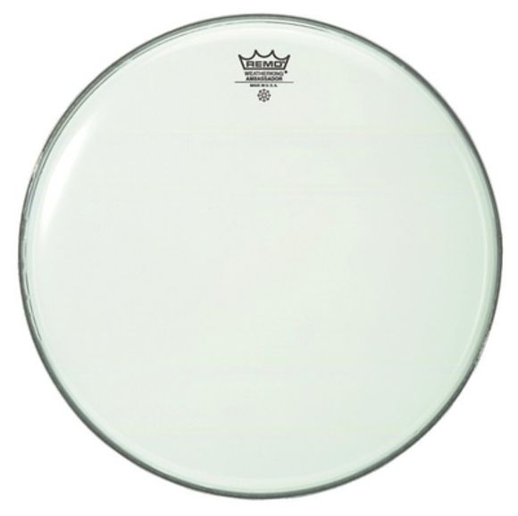 "16"" Ambassador Smooth White Remo"