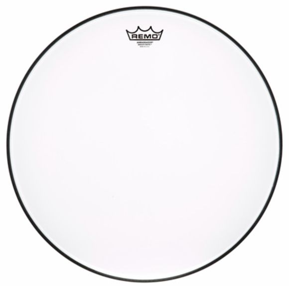 "18"" Ambassador Smooth White Remo"