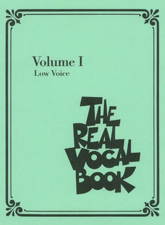 Real Vocal Book (Low) Vol.1 Hal Leonard